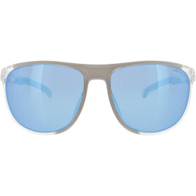 Red Bull SPECT Slide Zonnebril, x'tal clear/smoke with ice blue mirror polarized
